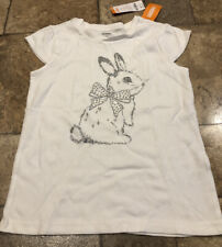 New Gymboree Shimmering Bunny Shirt Top Tee Size 12 NWT