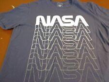 NASA Blue  T-shirt GAP  Brand   Small    I7