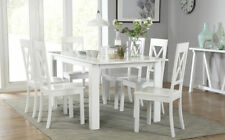 Unbranded Solid Wood Contemporary Table & Chair Sets