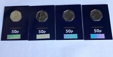 2018 BEATRIX POTTER 50P FIFTY PENCE BU COIN FULL COMPLETE SET   ALL 4 COINS  NEW