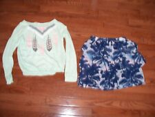 Lots of 2 Girls Cute Comfy Outfits, Size 10-12, Pre-owned