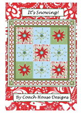 IT'S SNOWING QUILT PATTERN  by Coach House Designs Beautiful in ANY color scheme