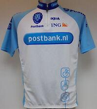 "AGU Postbank NL ING Cycle Cycling Shirt Jersey Large Ciclismo Trikot Maglia 42"""