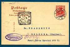 GERMANY - GERMANIA REICH - 1902 - CARTOLINA POSTALE. Destinaz.Bologna. R713