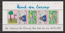NVPH Nederland V 1390 blok sheet MNH PF kinderzegels 1987 Netherlands Pays Bas
