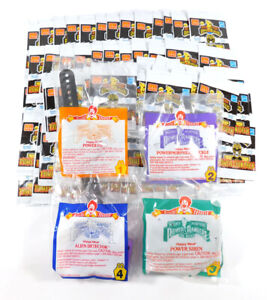 1995 McDonald's Set of 4 Power Rangers Happy Meal Toys + (100+) Power Coin Packs