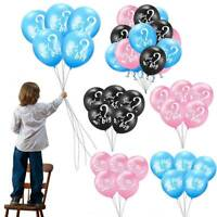 BABY SHOWER HE OR SHE BALLOONS GENDER REVEAL BOY OR GIRL FAVOURS DECORATIONS AY