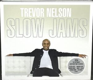 TREVOR NELSON SLOW JAMS - VARIOUS, TRIPLE CD ALBUM, (2018), NEW & SEALED.