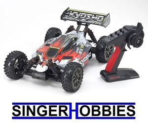 Kyosho 1/8 Inferno Neo 3.0 VE 4WD RC Buggy Brushless RTR Red KYO34108T2 HRP