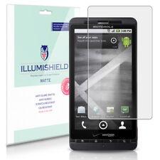 iLLumiShield Matte Screen Protector w Anti-Glare/Print 3x for Motorola DROID X2
