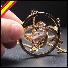 Colgante Giratiempos Harry Potter Collar Hermione Reloj Regalo Giratiempo