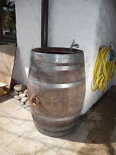 225 Liter Holzfass, Fass, Regentonne, Eichenfass, Weinfass, Regenfass aus Holz