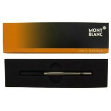 Montblanc India Orange Ballpoint Ink Refill M~ New in Box