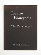 LOUISE BOURGEOIS The Personages 1994 Exhibition Catalog Art Sculptures