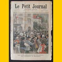 LE PETIT JOURNAL Supplément illustré Les congrégations en province 17 août 1902
