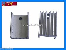 Aluminum Heatsink for TO220 Package Components 35mmx20mm Big Size-10Pc Set