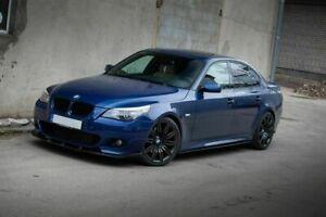 For BMW 5 Series E60 E61 Front Bumper Lip Spoiler P Performance M Style