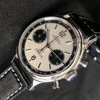 Hot Classic 1963 Pilot Watch Seagull ST1901 Movement Mechanical Chronograph D304