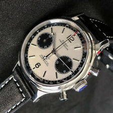 Hot Classic 1963 Pilot Watch Seagull ST1901 Movement Mechanical Chronograph D304