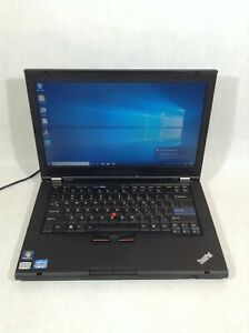 "Lenovo ThinkPad T420i 14"" Laptop/Intel Core i3/320GB HDD/4GB RAM/Win10 - RV"