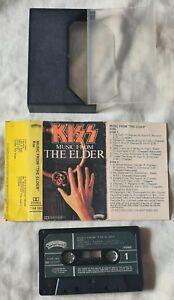 KISS- MUSIC FROM THE ELDER- 1981- CASABLANCA CASSETTE- RARE AUSTRALIA- AUCOIN
