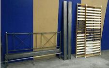Stabiles Design Stahl Gäste Metall Jugend Bett 2 Lattenroste passt zu Spinder