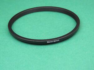 86mm-82mm Stepping Rücktritt männlich-weiblich Objektiv Filter Ring Adapter 86mm-82mm