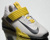 Nike Savaleos Men's Grey Weightlifting Shoes Low Gym Cross Training Sneakers