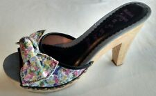 Womens Ladies Killah by Miss Sixty Slip On Mules Sandals Shoes Size 6/39 New+Box