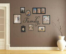 Family Frames Mural Wall Decal Vinyl Sticker Art Decoration Decor Graphic G57