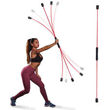 Elastic Fitness Bar, Weight Loss Exercise Fat Burning Training, Muscle Exercise
