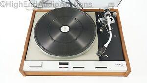 Thorens TD-125 mkII Turntable Record Player - SME 3009 Tonearm - Ortofon MC20