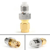 4Pcs FME Female Jack to SMA Male Plug Straight RF Coax Adapter Connector US^