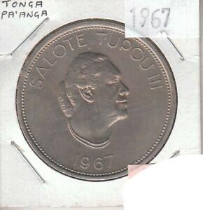 Tonga 1 Pa'anga 1967 Cupro-Nickel Circulated