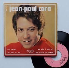 """Vinyle 45T Jean Paul Cara  """"Petit Antonio"""" - autographe authentifié"""