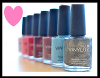 CND VINYLUX Weekly Nail Polish Lacquer U PICK COLOR Creative Nail Design .5 oz