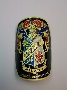 "CINELLI Head Bike headtube Badge ""the original"" Replica Vintage Emblem alloy"