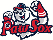 Pawtucket Paw Sox (AAA Red Sox) MiLB Die-Cut Decal / Sticker *Free Shipping
