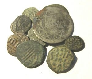 A lot of 10 Islamic coins