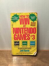 How to Win at Nintendo Games #3 by Jeff Rovin (1990, Paperback, St. Martin)