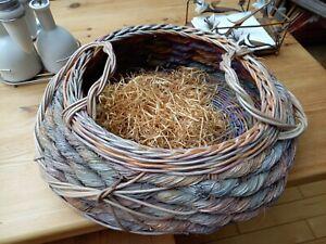 Unusual  vintage style Cane basket/Tray