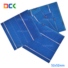 100pcs 52x52mm Solar Cells DIY Poly Solar Panel, Home lights, Battery Charger