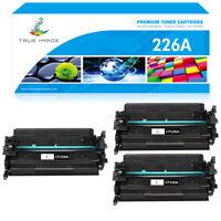 3 Pack Toner Compatible for HP 26A CF226A LaserJet Pro MFP M426fdw M402dw M402