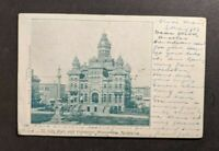 1903 City Hall Winnipeg Canada Picture Postcard to Margate England Postage Due