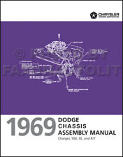 NEW 1969 Dodge Charger Chassis Assembly Manual Brakes Steering Suspension Tranny