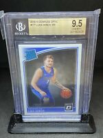 🔥2018-19 Donruss Optic LUKA DONCIC Rated Rookie #177 BGS 9.5 GEM MINT RC🔥📈