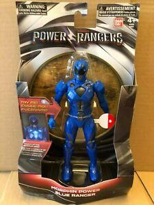 Power Rangers Movie 2017 - 17.5cm figure Blue ranger brand new