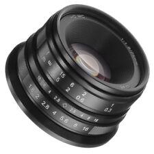 25mm F/1.8 Prime Lens Manual Focus MF For Canon EOS M EF-M Mount M100 M10 M6 M5