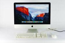 "Apple iMac 21.5"" Mid 2011 Core i5 2.5GHz 4GB RAM 500GB El Capitan Keyboard Mouse"