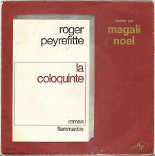 """MAGALI NOEL / JANKO NILOVIC """"LA COLOQUINTE"""" 60'S SP"""